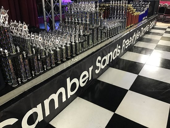 Camber, UK: Trophies from Friday night