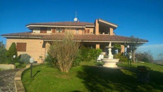Montottone, İtalya: Foto della villa