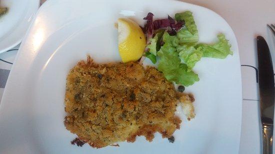 Cavenago di Brianza, Italia: Oggi filetto di Persico gratinato! Veramente buono! 👍
