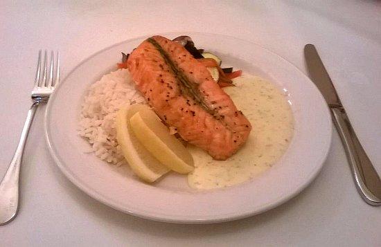 Restoran Taagepera Loss  Salmon