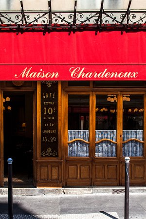 Photo of French Restaurant Le Chardenoux at 1 Rue Jules Valles, Paris 75011, France