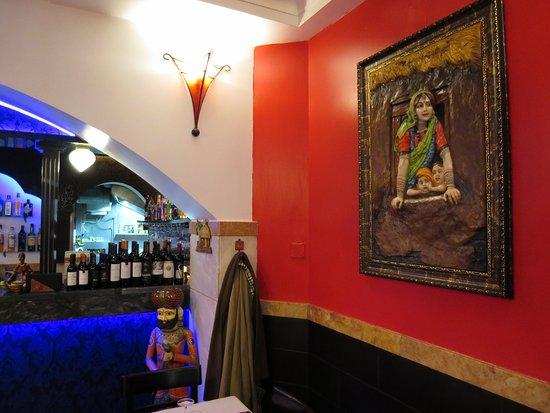 interior picture of restaurante india gate lisbon tripadvisor