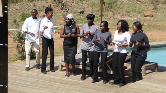 Welgevonden Game Reserve, Republika Południowej Afryki: Mhondoro seven