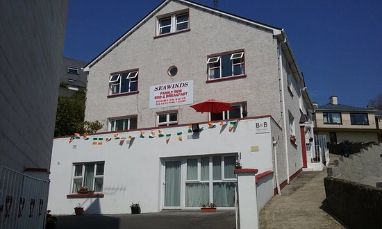 Seawinds family-run Bed and Breakfast on the Main Street, Killybegs, Co. Donegal, Ireland.