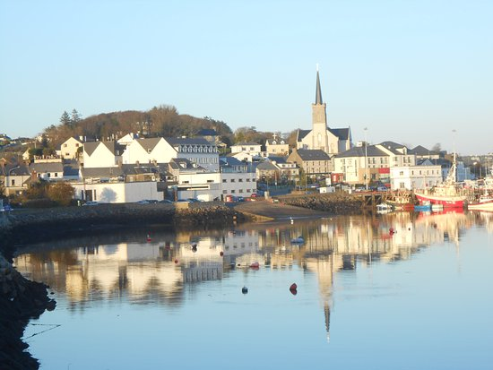 Seawinds Bed and Breakfast located in the town centre of Killybegs fishing port, Co.Donegal Irel