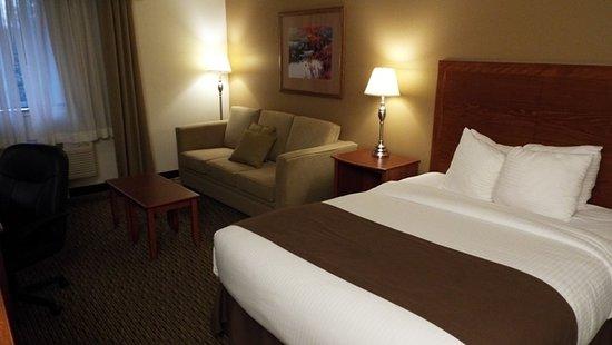 Best Western Tumwater-Olympia Inn: Sofa