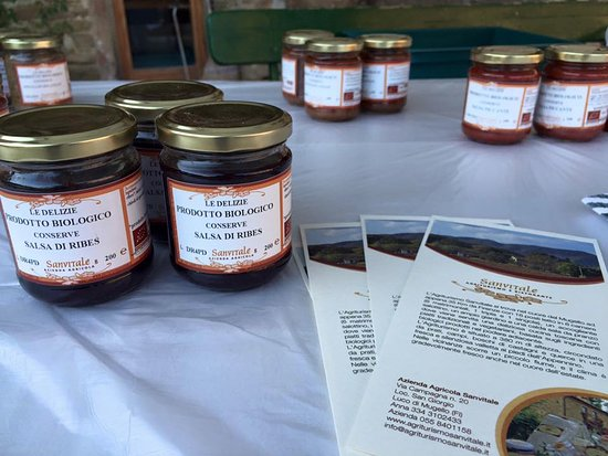 Luco Mugello, Italia: I prodotti della nostra Azienda Agricola Biologica