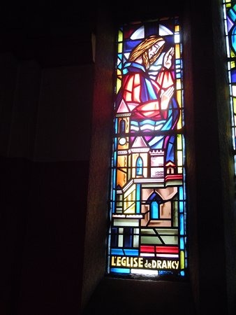 Vitrail église de Drancy