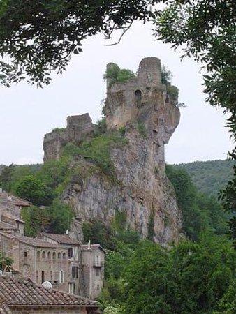 Penne, France: Vue extérieure de la terrasse