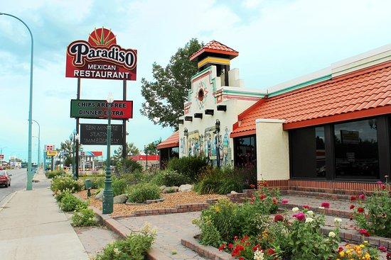 Paradiso Mexican Restaurant: Our Building