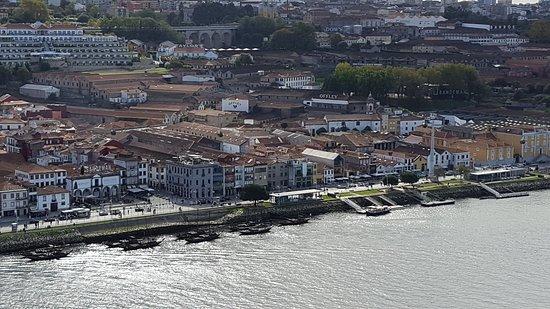 Porto District, Portugal: Vista de janela do andar superior