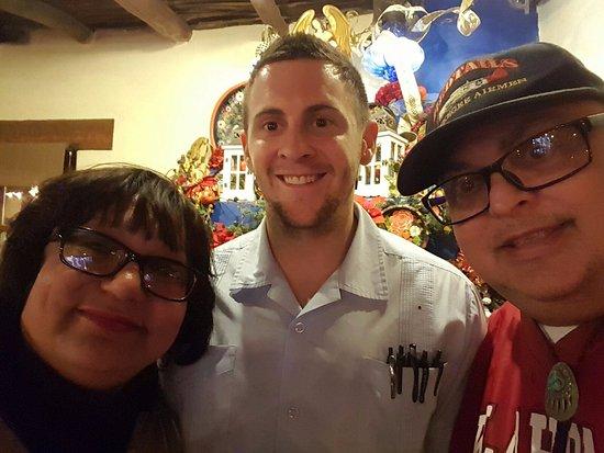 Mesilla, Nuevo Mexico: Our server Brett