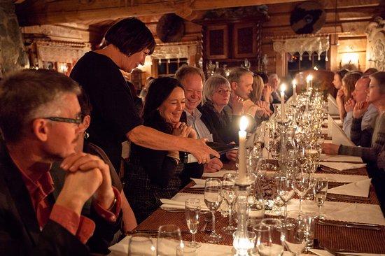Bronnoy Municipality, Noruega: Restaurant Sagastua