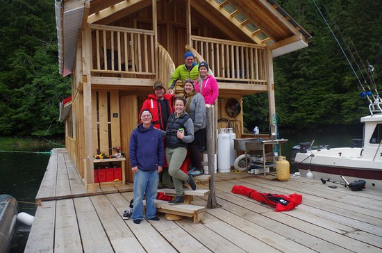 Prince Rupert, Canada: The lodge, Joe and crew