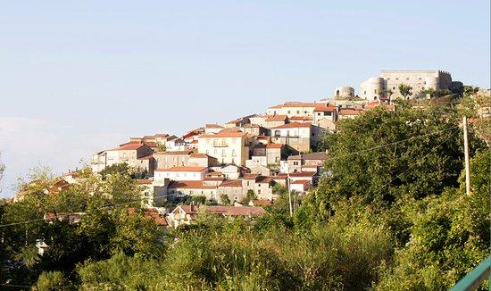 Postiglione, Италия: Vista del Castello dal Viale dei Grandini