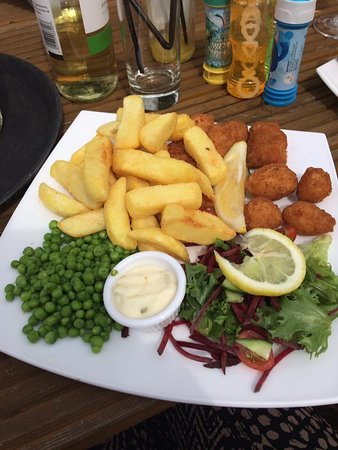 Dartford, UK: Scampi