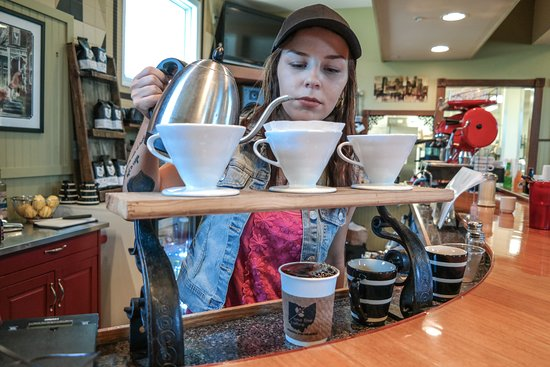 Zanesville, OH: Pour Overs.