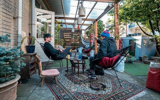 Hostel Ani & Haakien : Hostel Garden Ani&Haakien