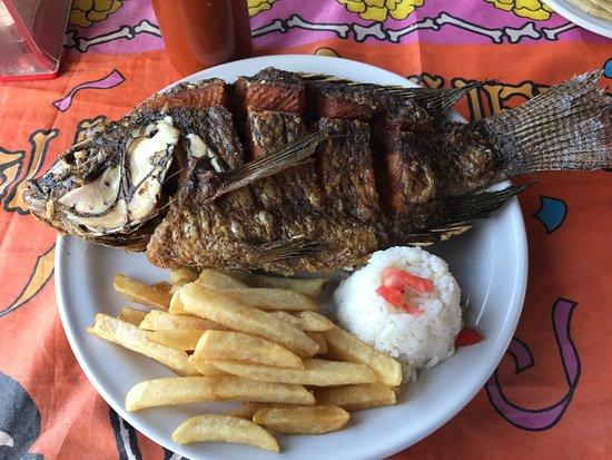 Paraiso, Meksyk: Fried Mojarra