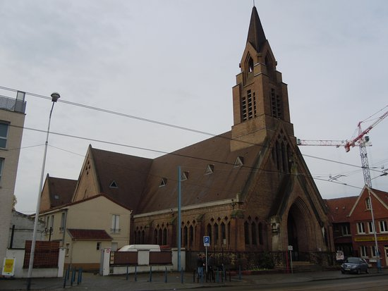 La Courneuve, France: L'église