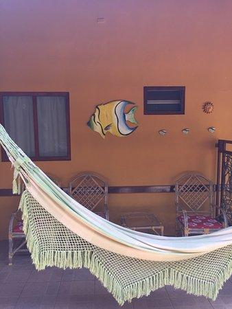Pousada Mabuya: Varanda de um dos apartamentos