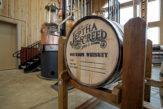 Shelbyville, KY: Jeptha Creed's first barrel of bourbon.