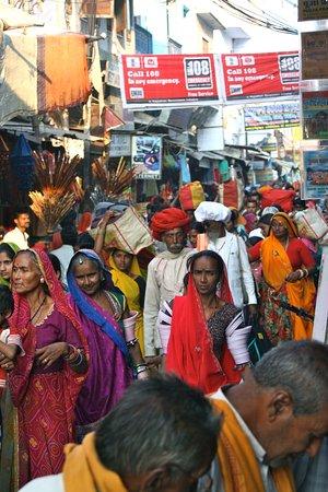 The Oberoi Rajvilas: Street view Jaipur