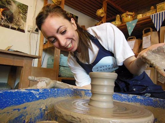 Eastnor Pottery & The Flying Potter
