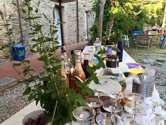 Borgo San Lorenzo, Italia: Il nostro aperitivo naturale