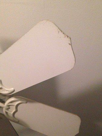 Stanley, VA: Ceiling fan in kitchen area