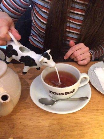 Ella's Yummy Delights: Cute milk jug!