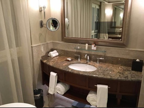 His Her Vanity Areas At Opposite Ends