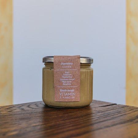 evergreen organics cafe organic cashew butter
