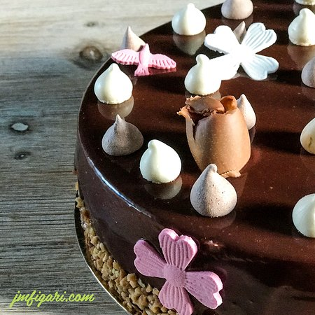 Figari, Francia: Notre gâteau Un, Dos, Tres !