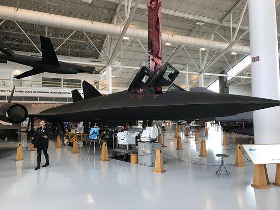 McMinnville, OR: SR-71 Blackbird with spy gear