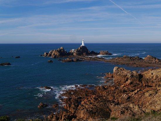 Corbiere Lighthouse (La Corbiere): le site du phare