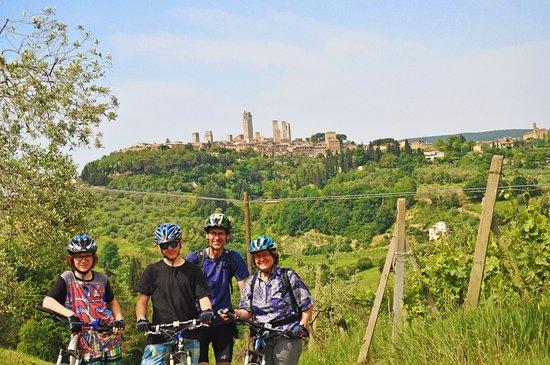 Montaione, Italien: Mtb bike tour