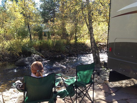 "Paradise on the River: Sitting in our ""backyard""."