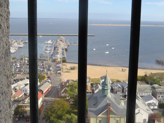 Pilgrim Monument & Provincetown Museum: The view during the ascent