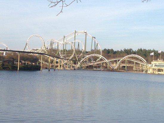 Die Alte Dame Des Parks Big Loop Bild Von Heide Park Soltau