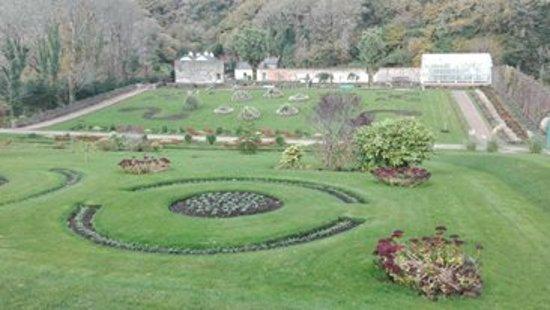 Kylemore, İrlanda: Zahrady