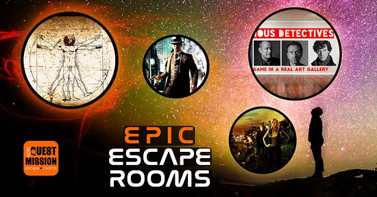 ‪Quest Mission - Epic Escape Rooms‬