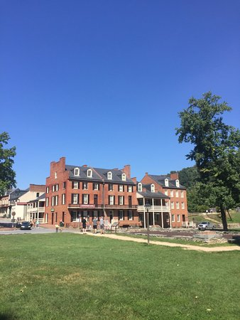 Harpers Ferry, Virginia Occidental: Center of town