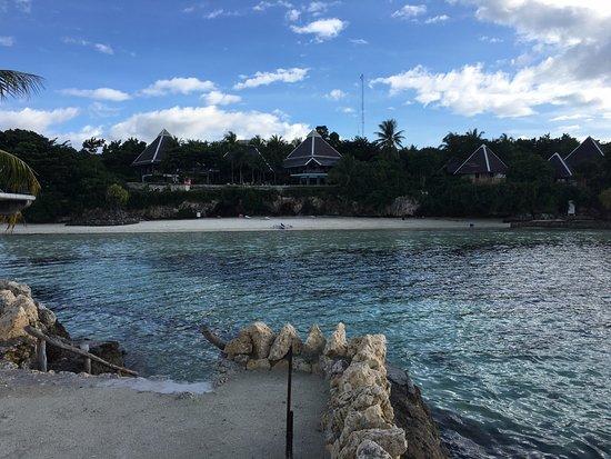 Dauis, Philippines: Panglao Island Nature Resort - View of Resort from Dream Islet.