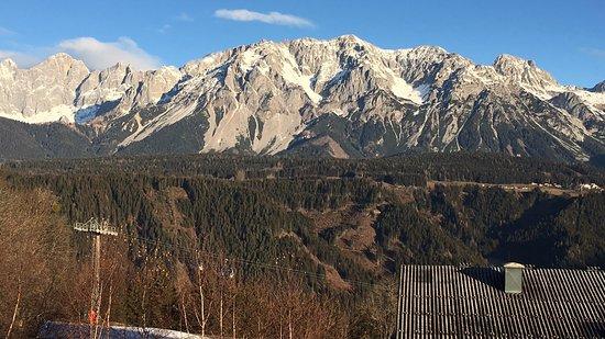 Rohrmoos-Untertal, Austria: View from my hotel room