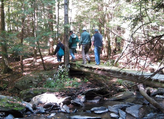 Dover Plains, Estado de Nueva York: Ribbon cutting for new trails