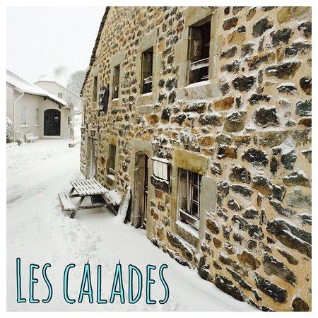 Les Estables, France: Auberge des Calades sous la neige