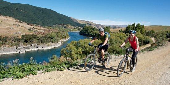 Roxburgh, นิวซีแลนด์: Clutha Gold Cycling & Walking Trail, Central Otago