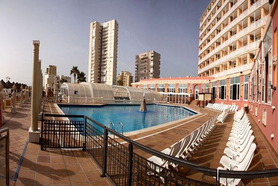 Hotel Entremares: Zona de piscina