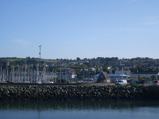 Howth, Ireland: different view of the marina
